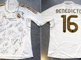 Руководство «Реала» подарило папе Римскому футболку Диарра