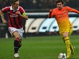 1/8 финала Лиги чемпионов: результаты «второй» среды. «Милан» останавливает «Барселону»