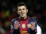 Вилья останется в «Барселоне» до лета