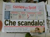 В Италии санкциям подверглись футболисты и клубы, обвиняемые по делу о договорных матчах
