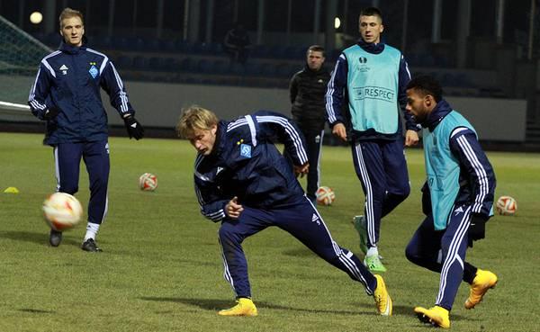 «Динамо» провело смешанный спарринг со второй командой