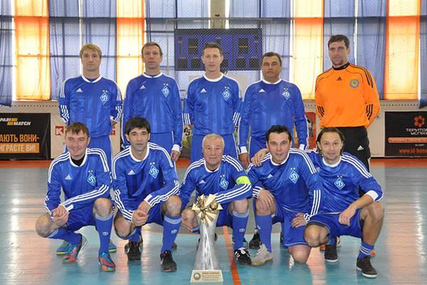 Ветераны «Динамо» сегодня проведут праздничный матч в Одессе
