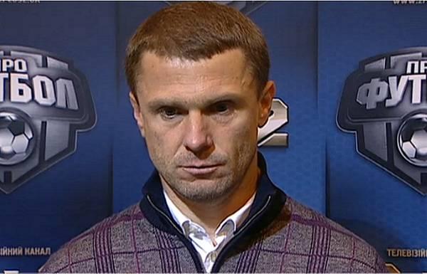 Сергей Ребров: «Надеюсь, ребята не слушают высказывания Луческу о «Динамо»