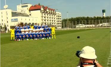 «Динамо» провело официальную фотосессию для Лиги чемпионов. ВИДЕО
