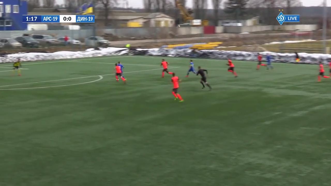 Арсенал-Киев сильнее Горняка-Спорт