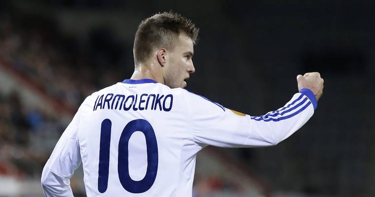 Андрей Ярмоленко — лучший игрок матча «Динамо» — «Волынь»