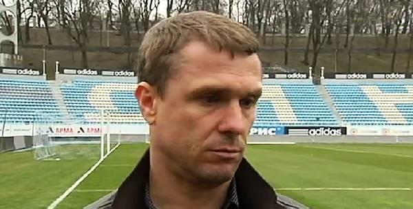 Сергей Ребров: «Я рад, что все наши команды сейчас работают по одной методике»