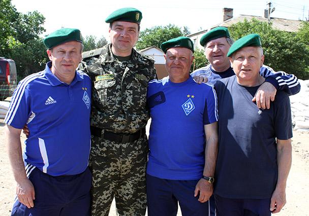 Звезды «Динамо» сыграют в Переяславе