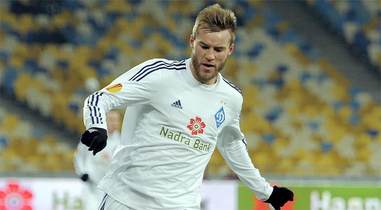 Андрей Ярмоленко — лучший игрок чемпионата Украины по итогам ноября-декабря