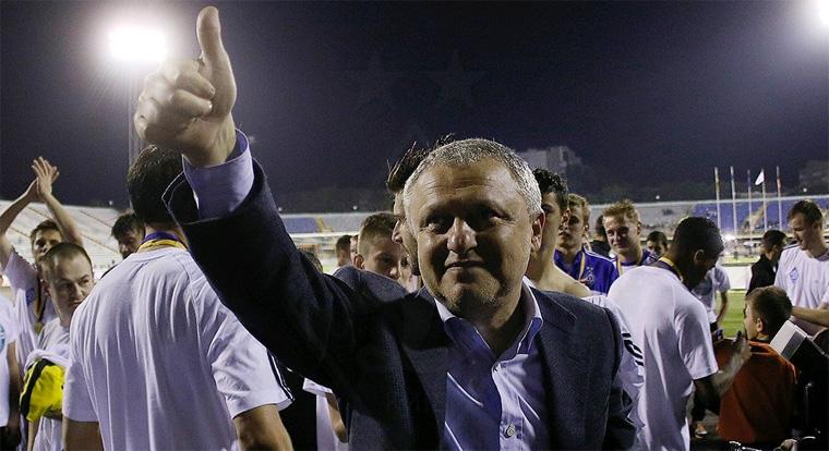 Игорь Суркис: «Если Алиев хочет вернуться в «Динамо», то ему нужно разговаривать с Ребровым»