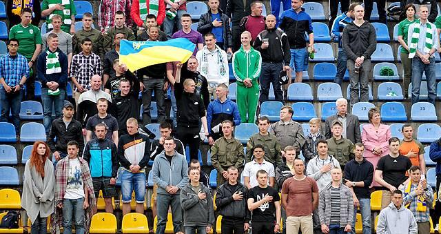 Украинские и американские воины посетят матч «Карпаты» — «Динамо»
