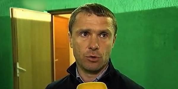 Сергей Ребров: «Мы чемпионы, но и в последних матчах нужно показывать чемпионскую игру»