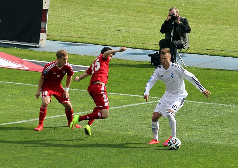 «Динамо» в третий раз стало чемпионом Украины, не проиграв ни одного матча