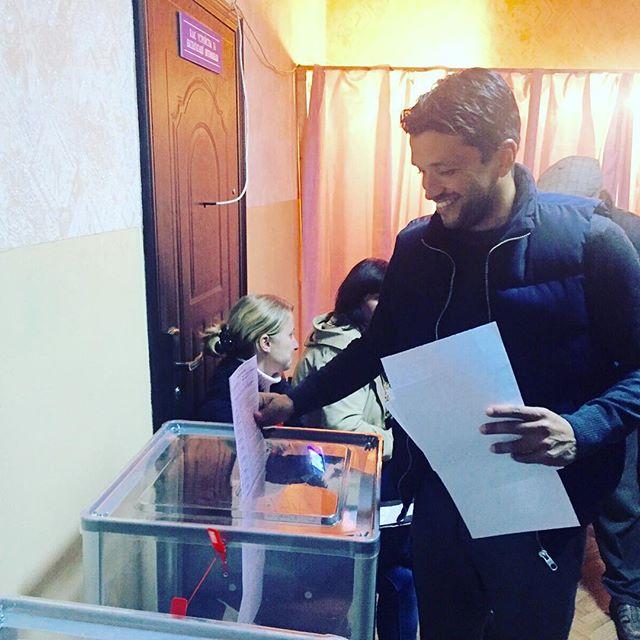 Эдмар впервые проголосовал в Украине на выборах - изображение 1
