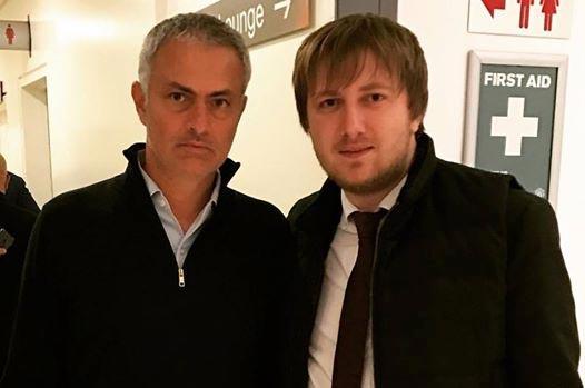 Агент Ярмоленко провел встречу с Моуринью
