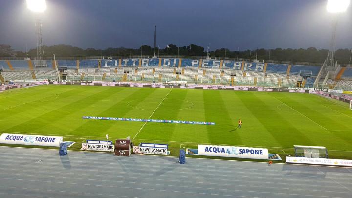 ВИталии землетрясение прервало футбольный матч
