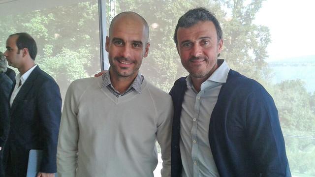 Гвардиола неостанется без титулов в2015-м году — Луис Энрике