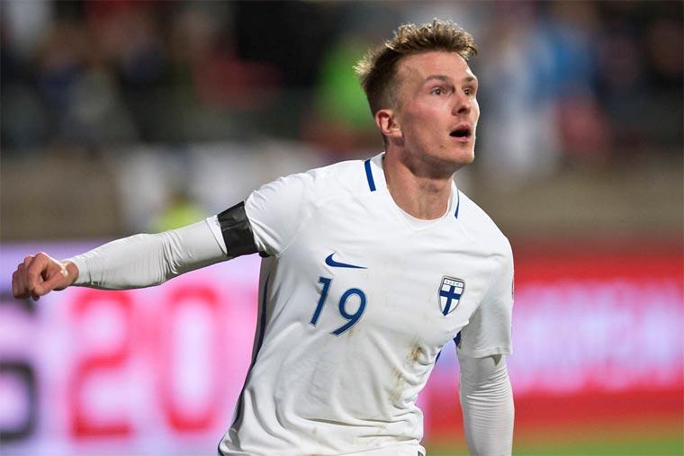 Защитник сборной Финляндии: Невижу обстоятельств, почему мынеобыграем Украинское государство