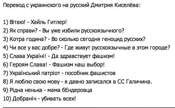 Мат на украинском с переводом