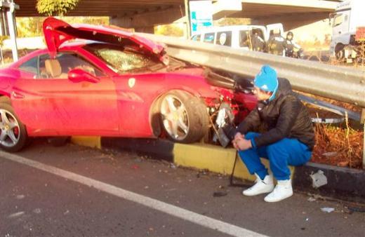 Артем Милевский попал в аварию в Турции - изображение 4