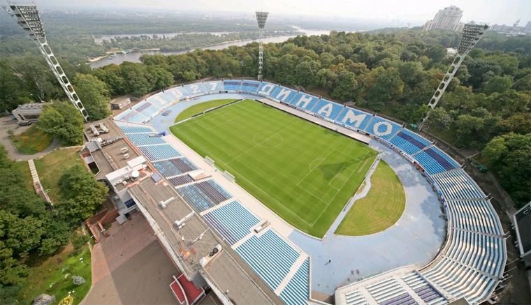 Ближайшие три матча «Динамо» проведет на стадионе им. В.Лобановского