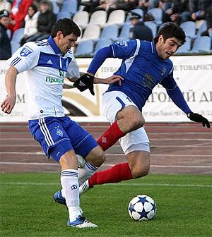 При счете 0:0 у Милевского и Ярмоленко отказали нервы