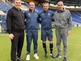Тренировку сборной Украины посетили Ярославский, Красников и Кучер