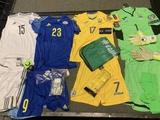 Украина сыграет с Казахстаном в желтой форме
