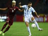 Эрик Рамирес сыграл за сборную Венесуэлы против Аргентины (ВИДЕО)