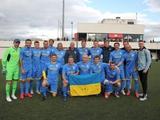 Сборная ветеранов Украины выиграла турнир в Испании