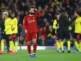 Прервалась 44-матчевая беспроигрышная серия «Ливерпуля» в АПЛ. Рекорд «Арсенала» устоял