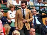 Дэвид Бэкхем посещает матчи украинской теннисистки