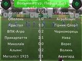 Первая лига, 8-й тур: ВИДЕО всех голов и обзоры матчей
