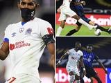 Первый в мире профессиональный футболист, который играет в противовирусной маске (ФОТО)