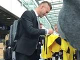 Андрей Ярмоленко отправился с «Боруссией» в Лондон на матч Лиги чемпионов (ВИДЕО)
