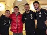 Карлос де Пена прибыл в расположение сборной Уругвая (ФОТО)