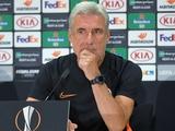 Луиш Каштру: «Интер» в матче с «Шахтером» встретится завтра со сложностями»