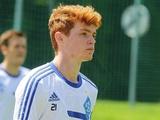 Виктор Цыганков: «С Ребровым был разговор, что смогу скоро начать тренироваться с первой командой»