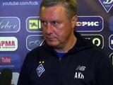 Александр Хацкевич: «У Русина — перенапряжение мышц, а Вербич и Кендзера заболели ангиной»