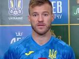 Андрей Ярмоленко: «Мне кажется, надо больше играть с мячом и контролировать игру»