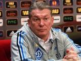 Олег БЛОХИН: «Если будем играть с «Рапидом» на ничью — ничего не получится»