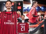 «Милан» представил Ибрагимовича: «С Мальдини и Бобаном общался больше, чем с женой»