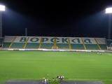 На стадионе «Ворскла» смонтировано новое освещение