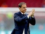 Франк де Бур уволен с поста главного тренера сборной Нидерландов
