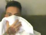 Беньямин Вербич усиленно лечится от ангины (ВИДЕО)