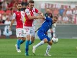 «Славия» — «Динамо» — 1:1. Трюк с двумя мячами