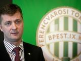 Президент «Ференцвароша»: «Договорились с Ребровым, что на поле должны выходить пять венгерских футболистов»