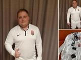 «Заря» подарила комплекты формы двум болельщикам, арендовавшим подъемник для просмотра матча с «Десной» (ФОТО)