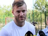 Андрей ЯРМОЛЕНКО: «Эмоции от перехода в «Боруссию» улеглись. На футболе сосредоточился окончательно»