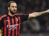 Игуаин: «Не считаю себя звездой «Милана»